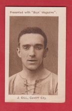 Cardiff City Jimmy Gill